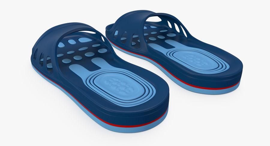 Crocs shoes royalty-free 3d model - Preview no. 6