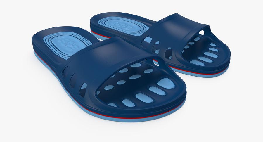Crocs shoes royalty-free 3d model - Preview no. 3