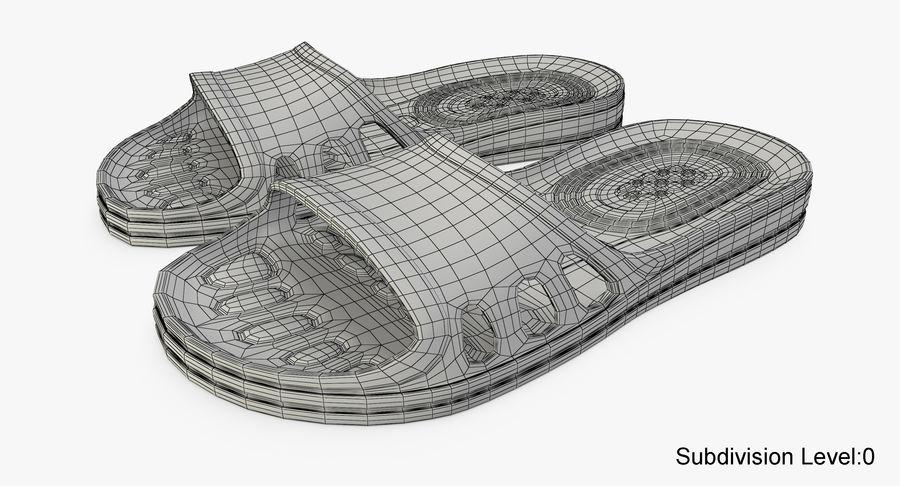 Crocs shoes royalty-free 3d model - Preview no. 12