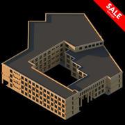 学校 3d model