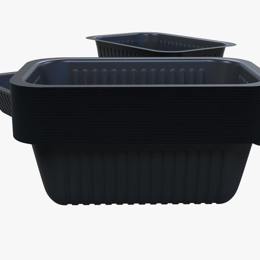 Büyüklükte Gıda Kapları royalty-free 3d model - Preview no. 6