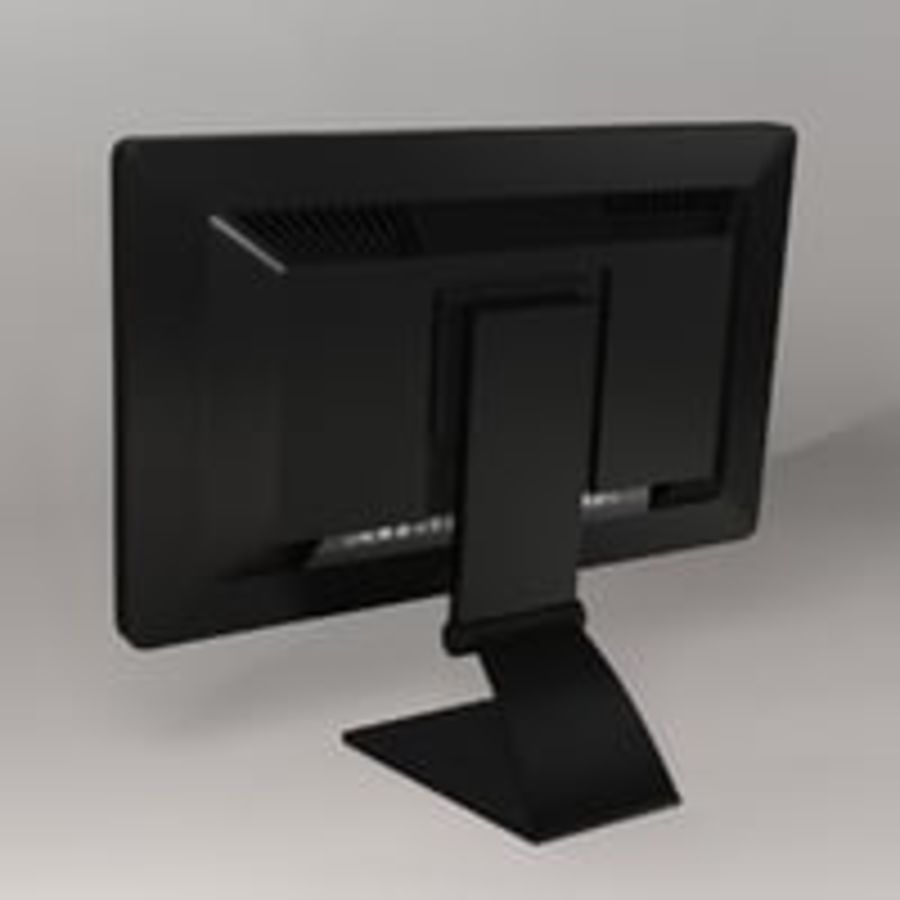 Generic PC Monitor royalty-free 3d model - Preview no. 4
