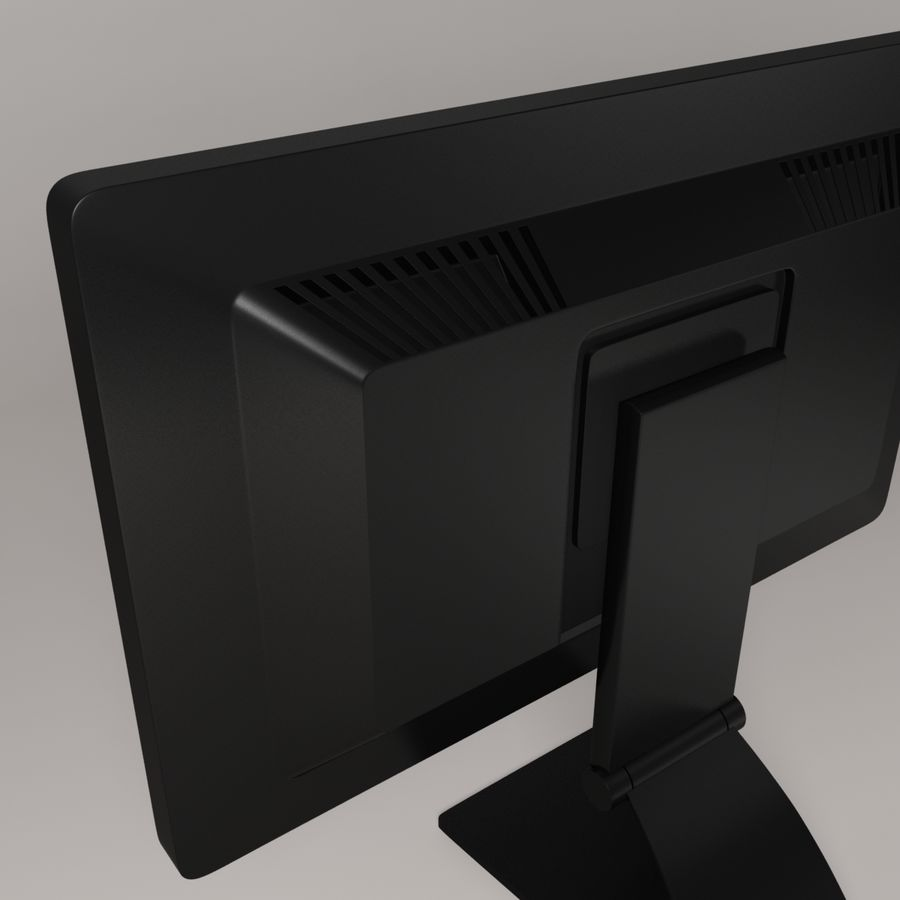 Generic PC Monitor royalty-free 3d model - Preview no. 11