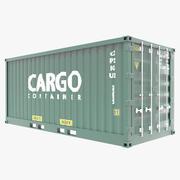 Zending Container 3d model