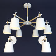 Scandinavische lamp 3d model