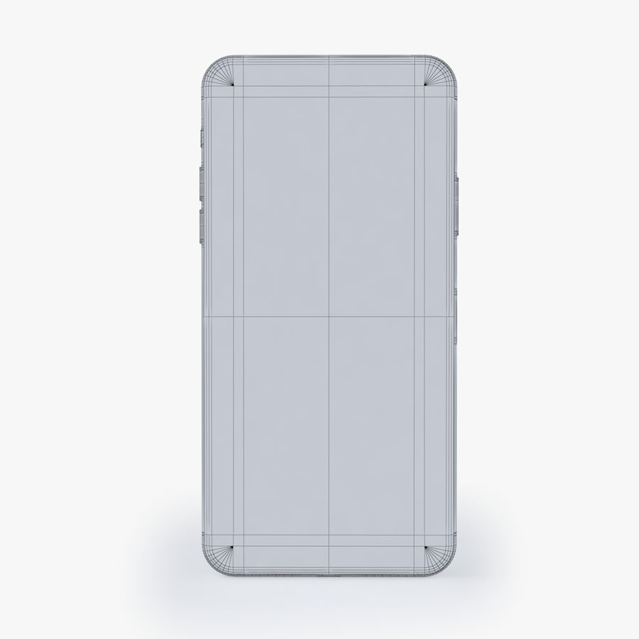 iPhone X royalty-free 3d model - Preview no. 11
