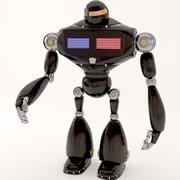 robot policyjny 3d model