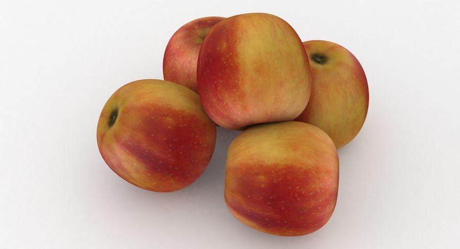 Campeón de la manzana de frutas royalty-free modelo 3d - Preview no. 5