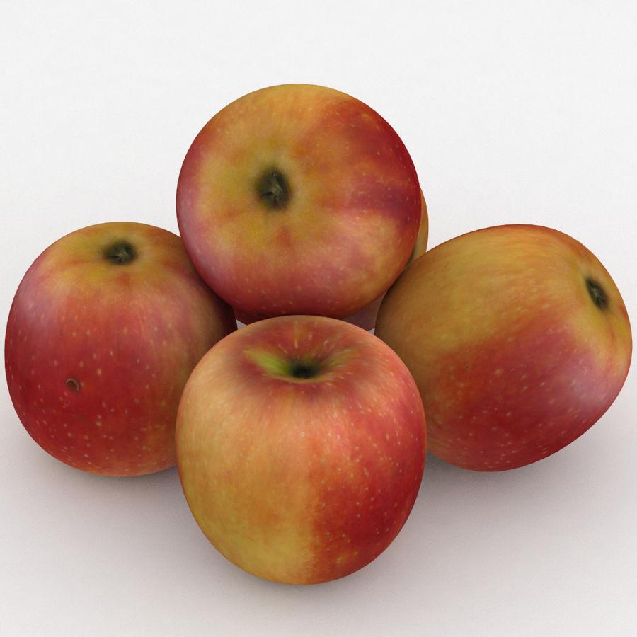 Campeón de la manzana de frutas royalty-free modelo 3d - Preview no. 1