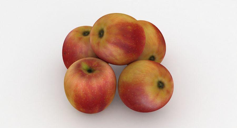 Campeón de la manzana de frutas royalty-free modelo 3d - Preview no. 3