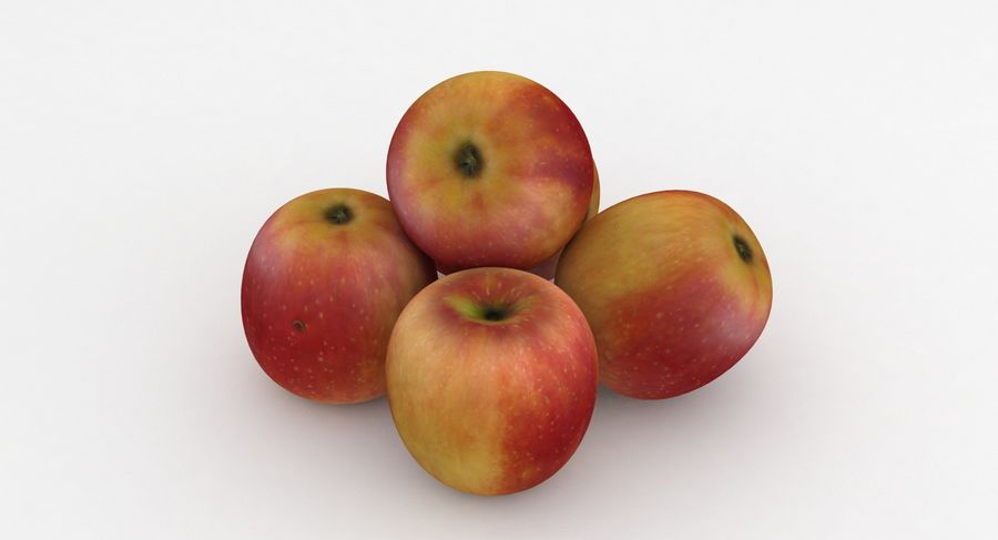 Fruit Apple Champion royalty-free 3d model - Preview no. 2