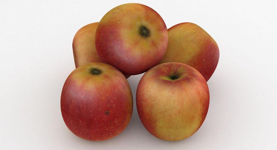 Campeón de la manzana de frutas royalty-free modelo 3d - Preview no. 7