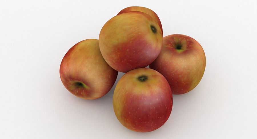 Fruit Apple Champion royalty-free 3d model - Preview no. 6