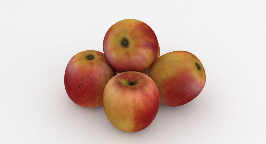 Campeón de la manzana de frutas royalty-free modelo 3d - Preview no. 2