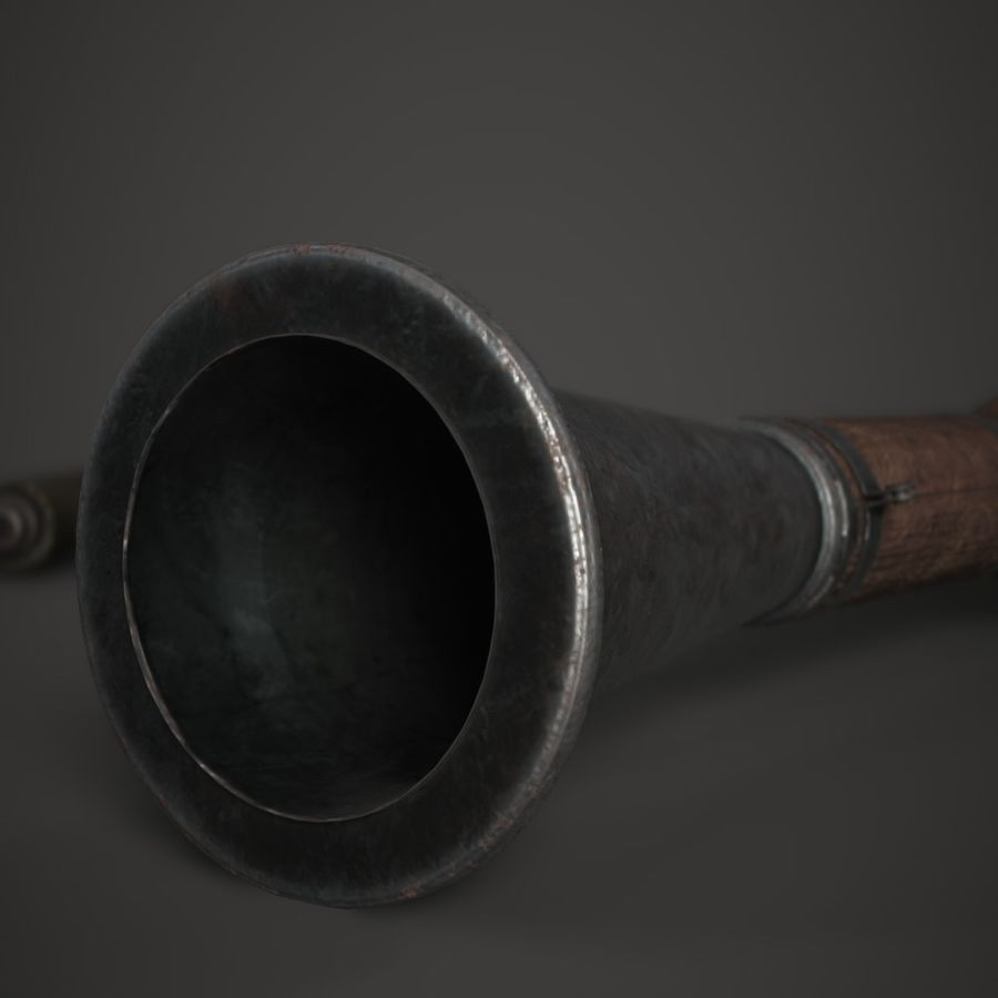 RPG 7 royalty-free 3d model - Preview no. 8