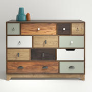 Shoreditch Drawer Chest 3d model