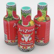 飲料ボトルアリゾナレッドスイカ 3d model