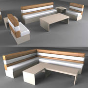 Fancy Sofa 3d model
