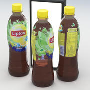 飲料ボトルリプトンレモンアイスティー500 ml 3d model