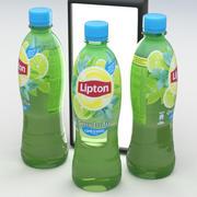 飲料ボトルリプトングリーンアイスティーライムミント500 ml 3d model