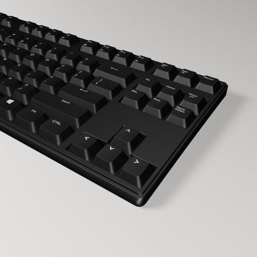PC Computer Set royalty-free 3d model - Preview no. 16