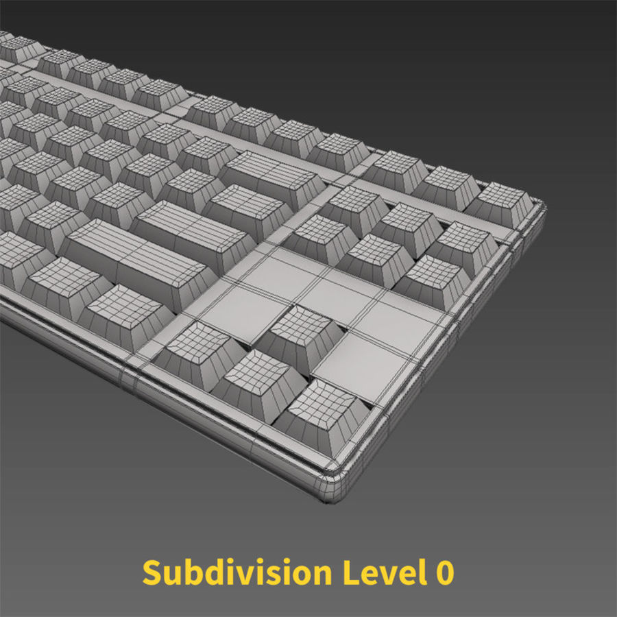 PC Computer Set royalty-free 3d model - Preview no. 19