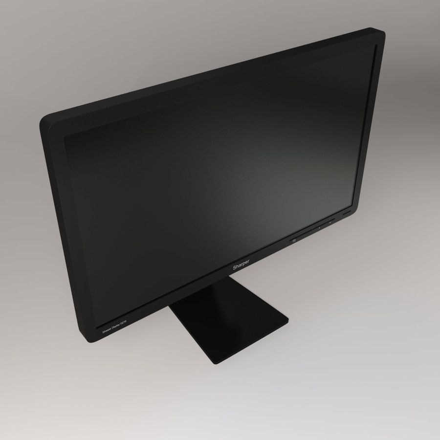 PC Computer Set royalty-free 3d model - Preview no. 10