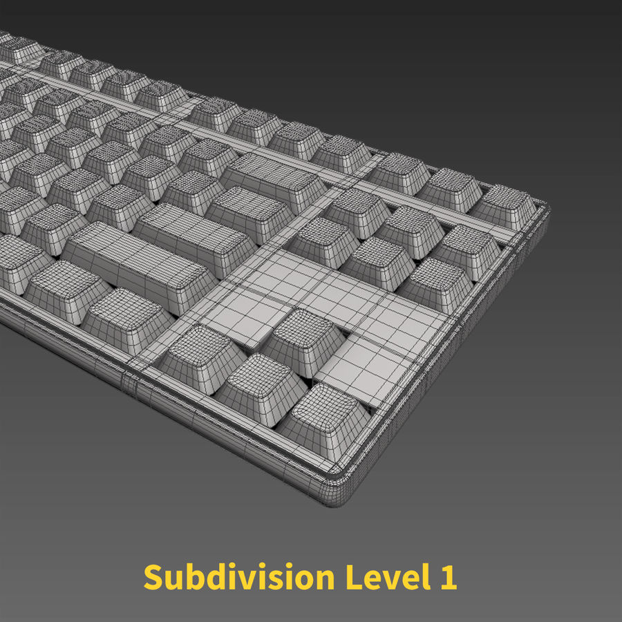 PC-Computer-Set royalty-free 3d model - Preview no. 20