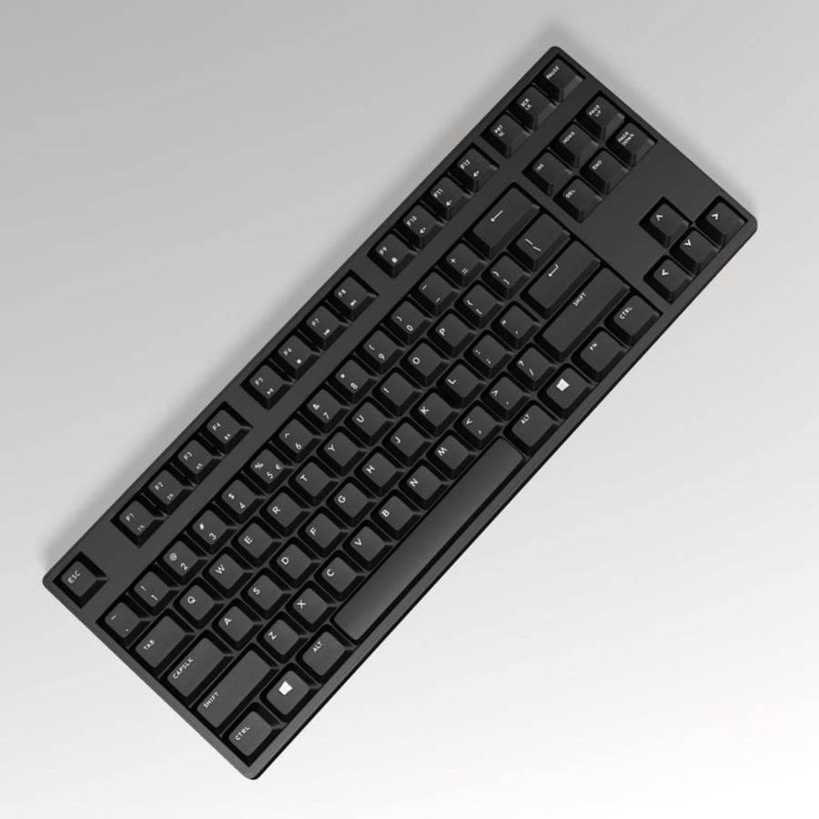 PC Computer Set royalty-free 3d model - Preview no. 15