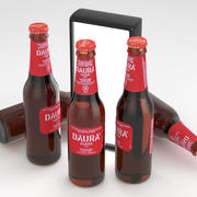 啤酒瓶Daura Damm 330ml 3d model