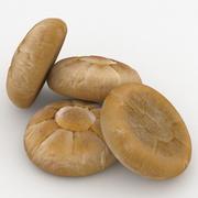 Pão em Forma de Pão 3d model