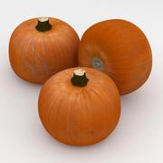 Vegetabilisk pumpa apelsin 3d model