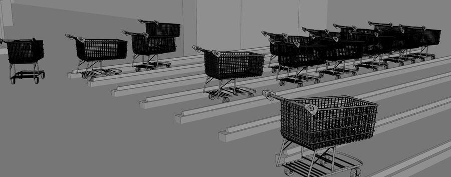 Supermercado royalty-free modelo 3d - Preview no. 16