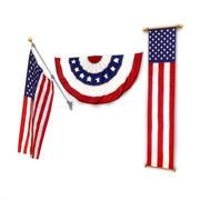 Pacchetto bandiere degli Stati Uniti 2 3d model