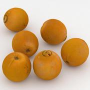 Fruit Orange 3d model