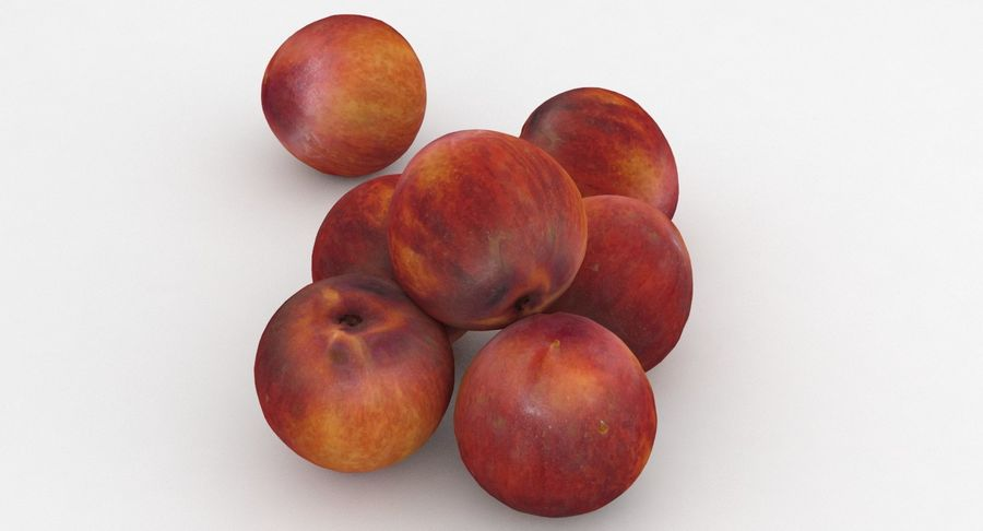 Fruit Peach royalty-free 3d model - Preview no. 2