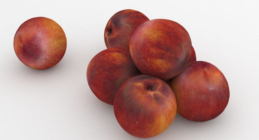 Fruit Peach royalty-free 3d model - Preview no. 7