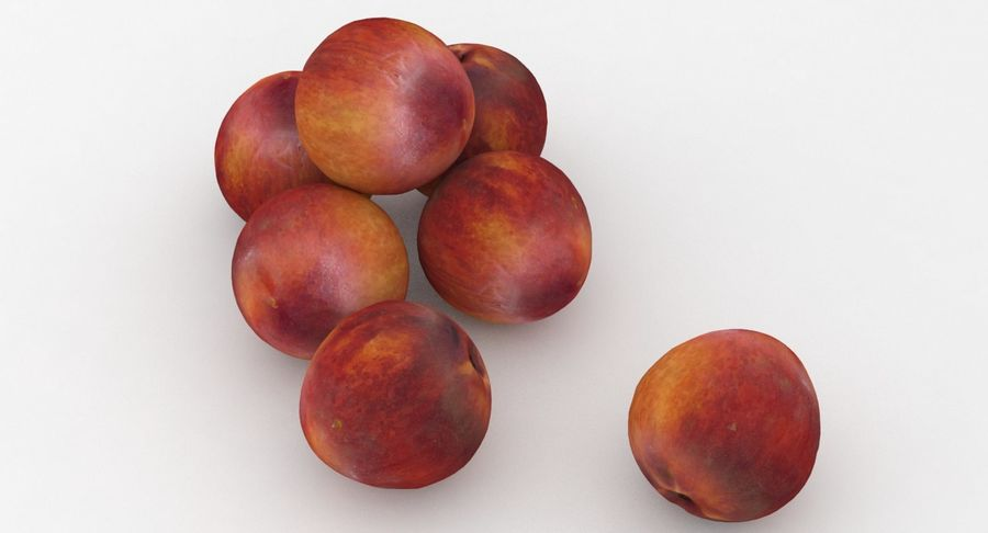 Fruit Peach royalty-free 3d model - Preview no. 5