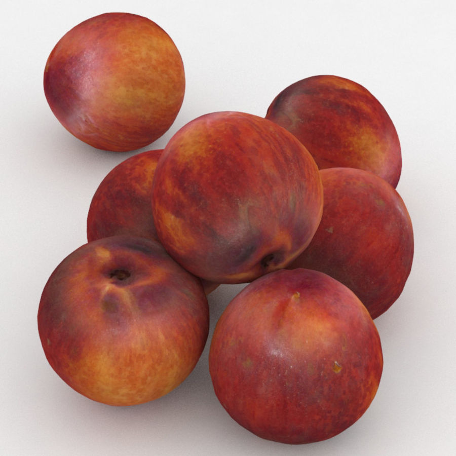 Fruit Peach royalty-free 3d model - Preview no. 1