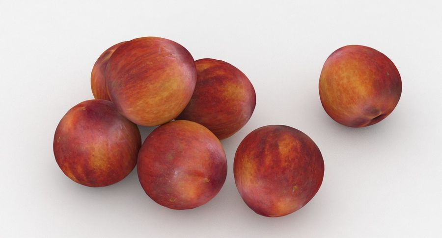 Fruit Peach royalty-free 3d model - Preview no. 4