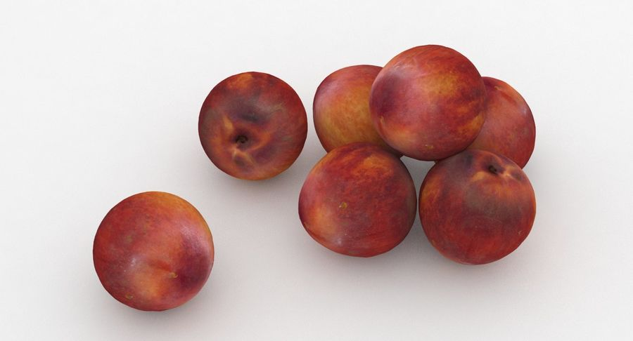 Fruit Peach royalty-free 3d model - Preview no. 6