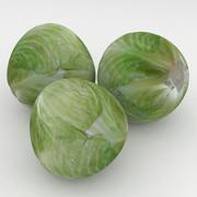 Vegetable Cabbage 3d model