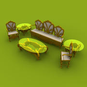 Chinioti Sofa 3d model