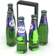 Пивная бутылка Кроненбург 1664 250мл 3d model