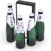 啤酒瓶Kronenbourg 1664 Blanc 250ml 3d model