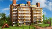 Apartment Building V1 3d model