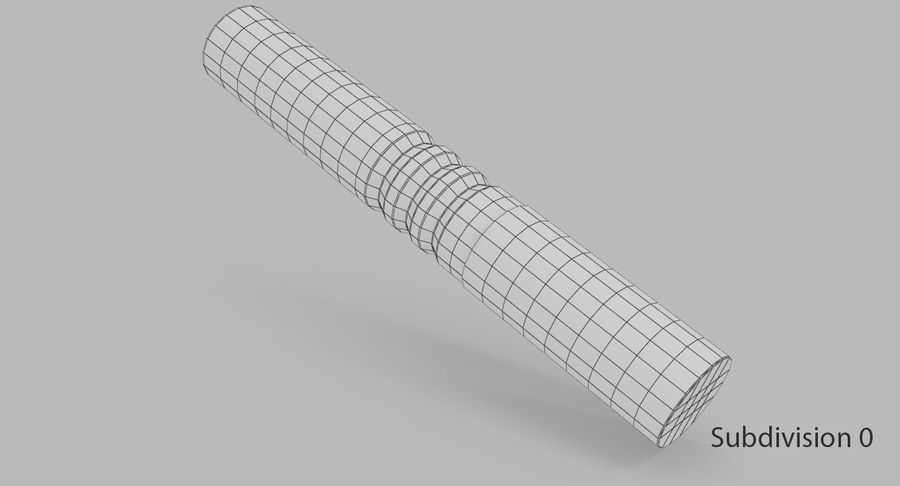 Sjungande skål royalty-free 3d model - Preview no. 19