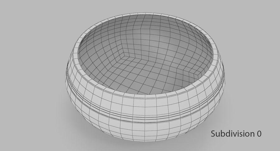 Sjungande skål royalty-free 3d model - Preview no. 7