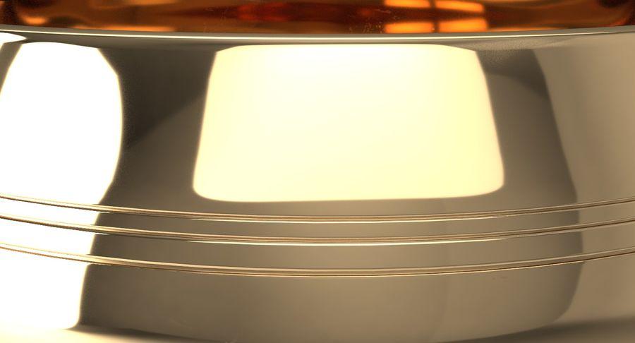 Sjungande skål royalty-free 3d model - Preview no. 10