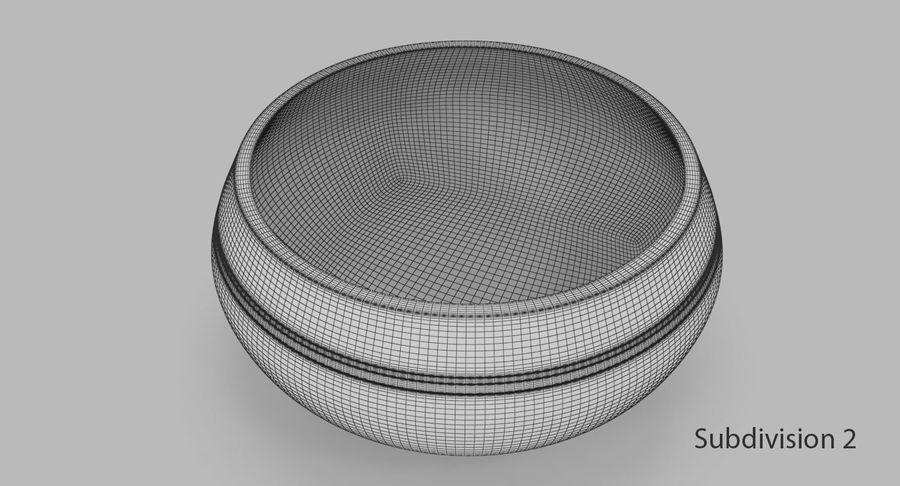 Sjungande skål royalty-free 3d model - Preview no. 9
